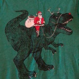 Santa's Dino sled.
